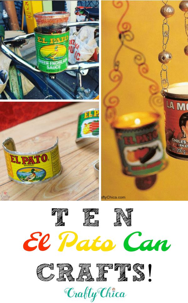 10 El Pato Can crafts to make