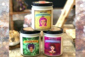 Crafty Chica Affirmation Candles