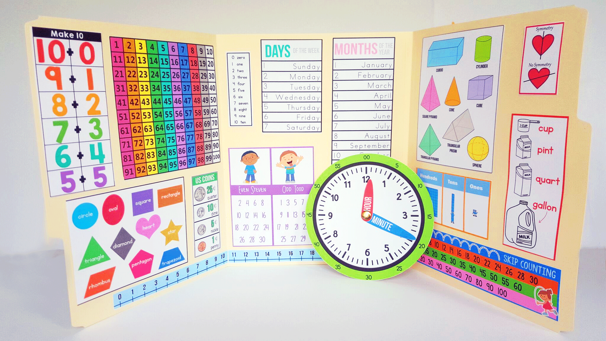Interactive Math Kindergarten