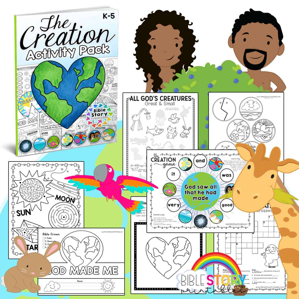 Creation Bible Activity Pack