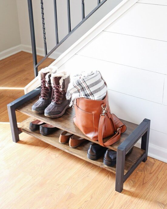 20 extraordinary diy shoe racks ideas