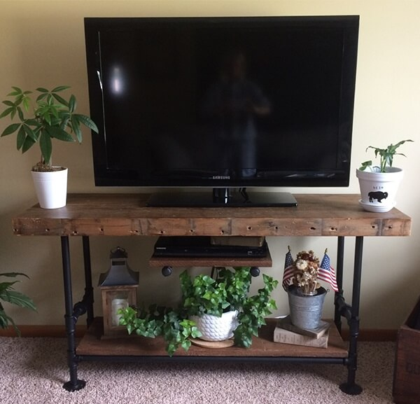 20 easy and unique tv stand ideas for