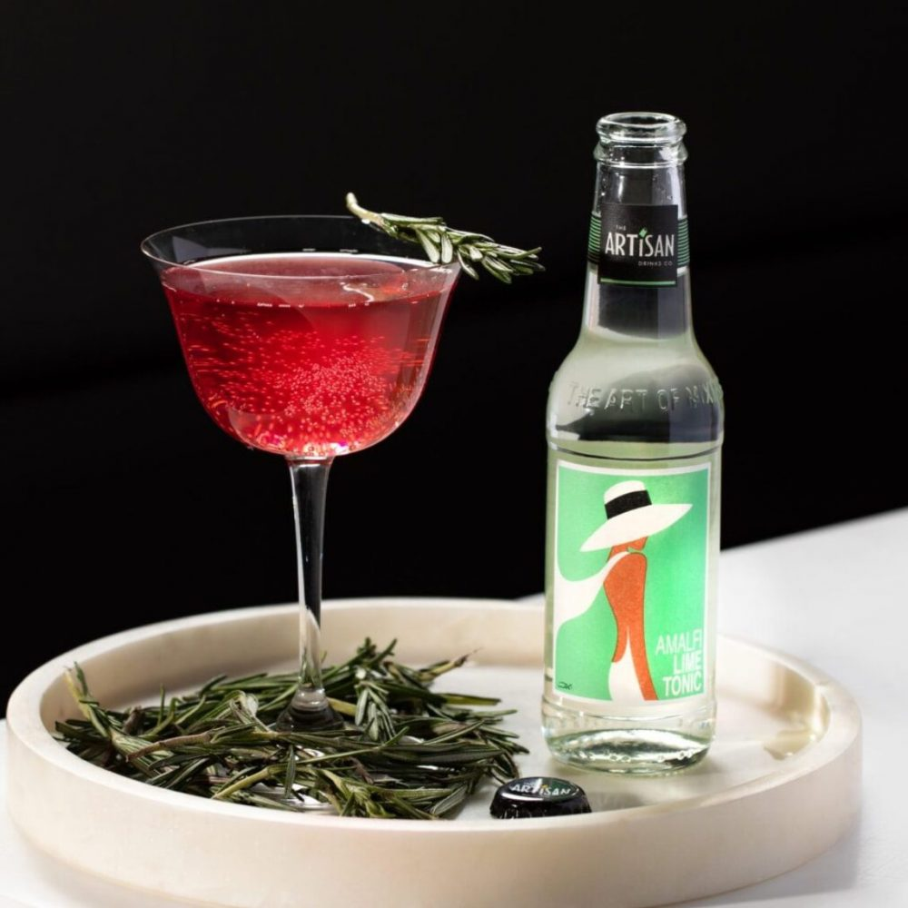 The Artisan Drinks Co Amalfi Lime Tonic