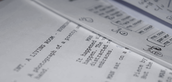 Screenwriting for TV and film, comedy scripts.