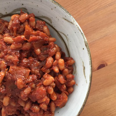 Cut the Waste Apple Baked Beans  The Crafty Cook Nook