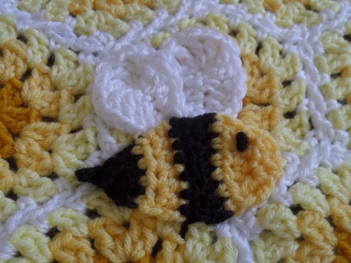 Buzzy Bee Baby Blanket With Matching Hat Crafty Cori Strikes Again