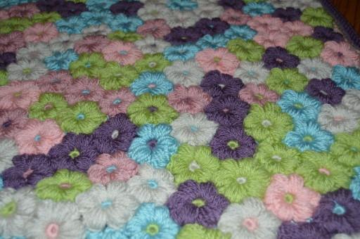 Mollie Flower Baby Blanket – Crafty Cori Strikes Again