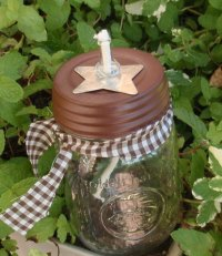 Crafty Cuties by Design - Mason Jar Oil Lamp- Star ...