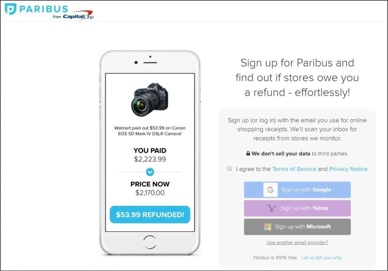 Paribus Refund App