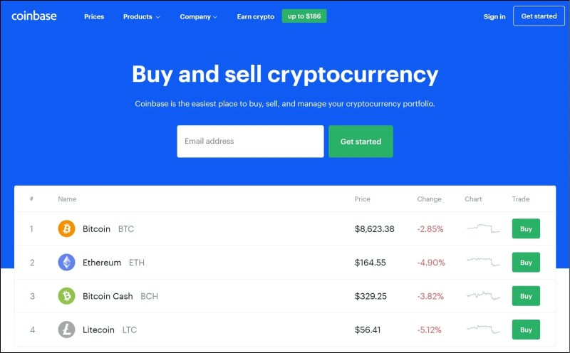 Coinbase Cryptocurrency Tool