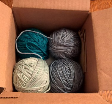 February yarn delivery