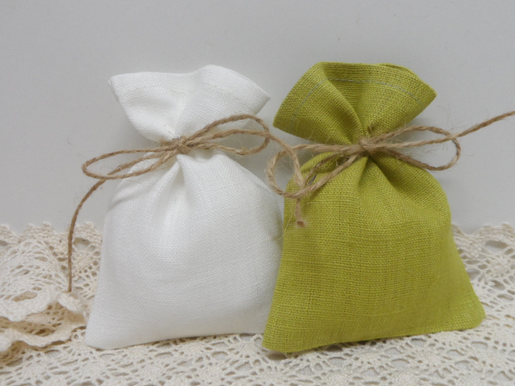 Handmade Linen Bags