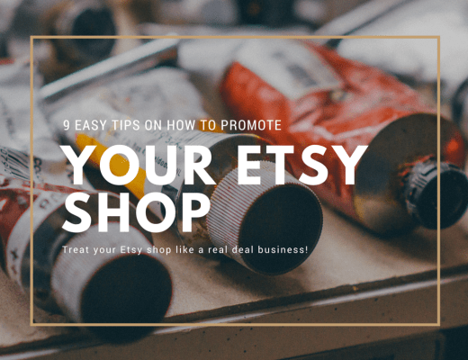Easy tips on how to promote your Etsy shop