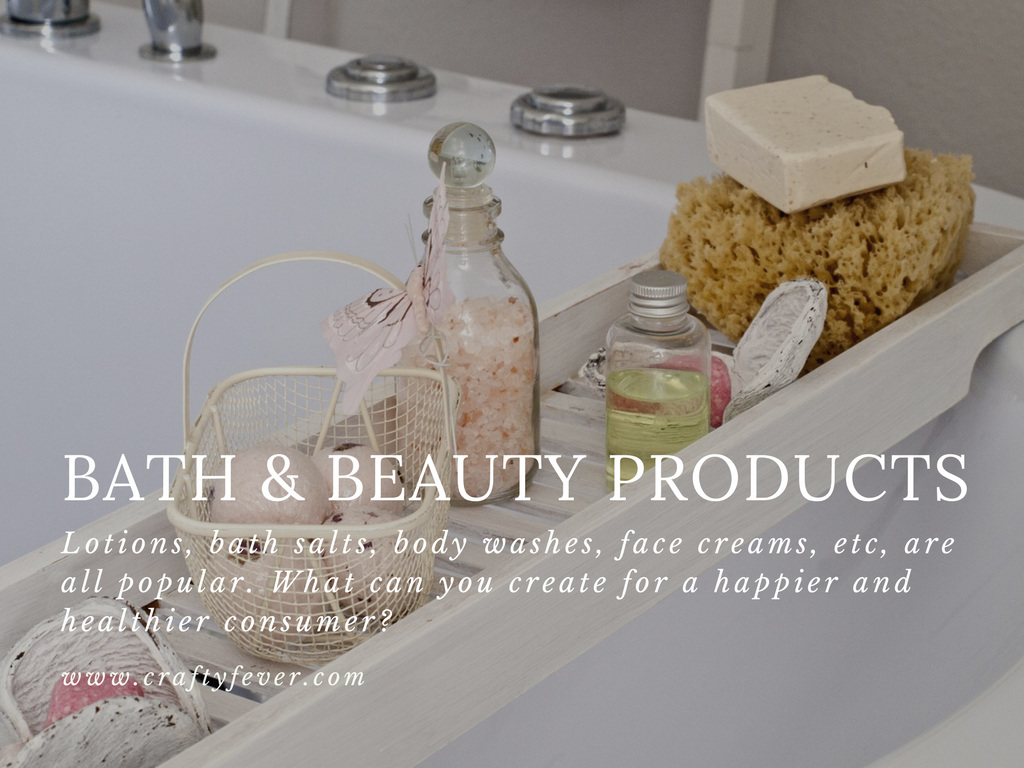 Selling bath products on Etsy