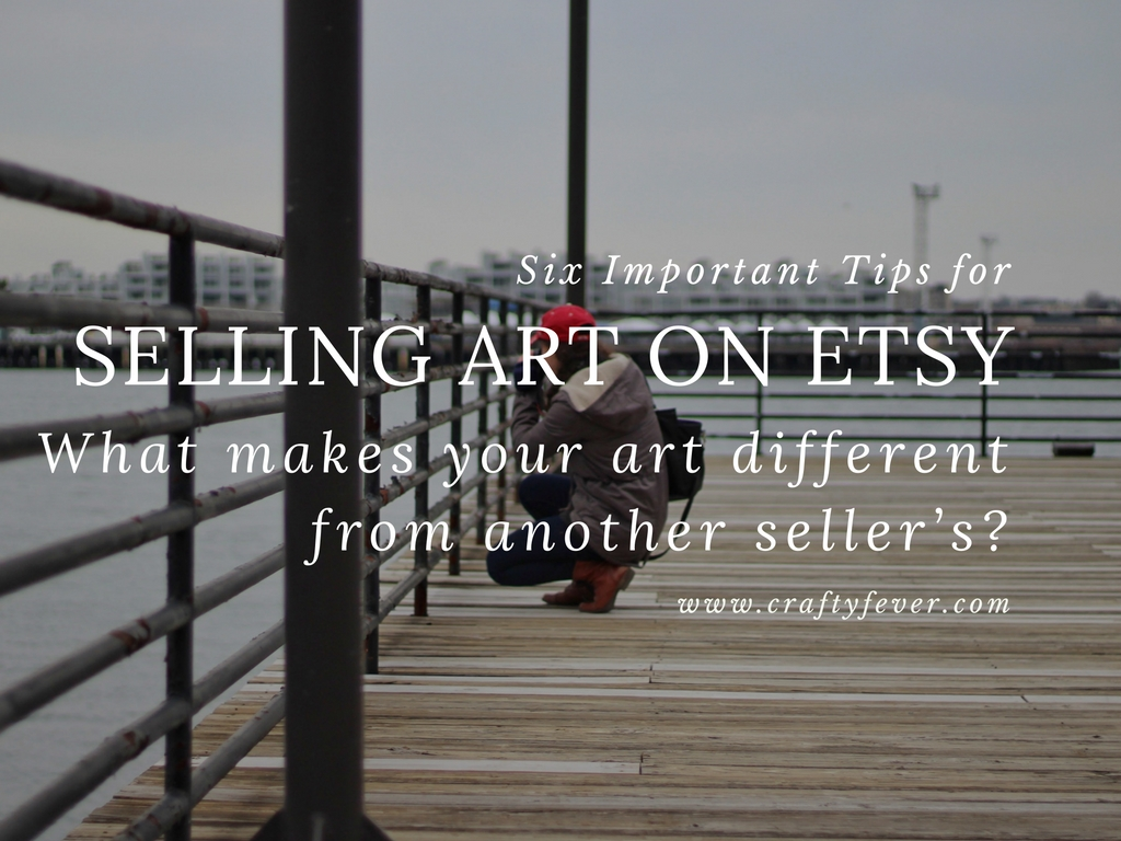 Tips for Selling Art on Etsy