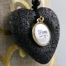 Cotton Pumice Necklace