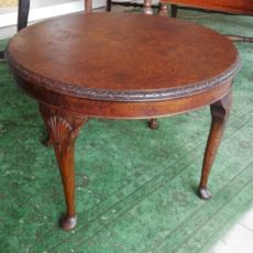 chippendale coffee table in walnut