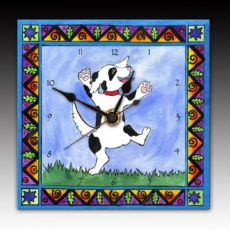 Dancing Dog Clock
