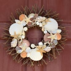 Beach Decor Nautical Door Wreath