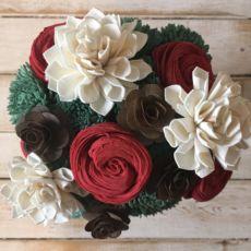 Wooden Flower Bouquet