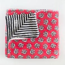 Crossbones Minky Blanket