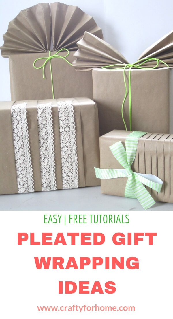 brown paper for gift