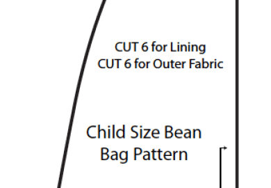 Beanbag Chair Pattern