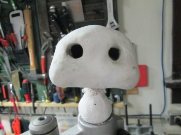 More sculpting, with Permastone Resin