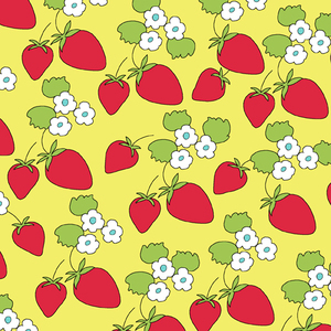 creative_thursday_locally_grown_wild_strawberries_in_yellow