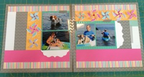 Completed a full scrapbook!