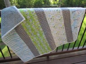 Backyard Baby quilt