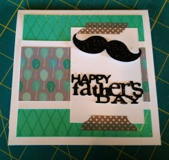 Father's Day card using Close to My Heart's Dream Pop papers