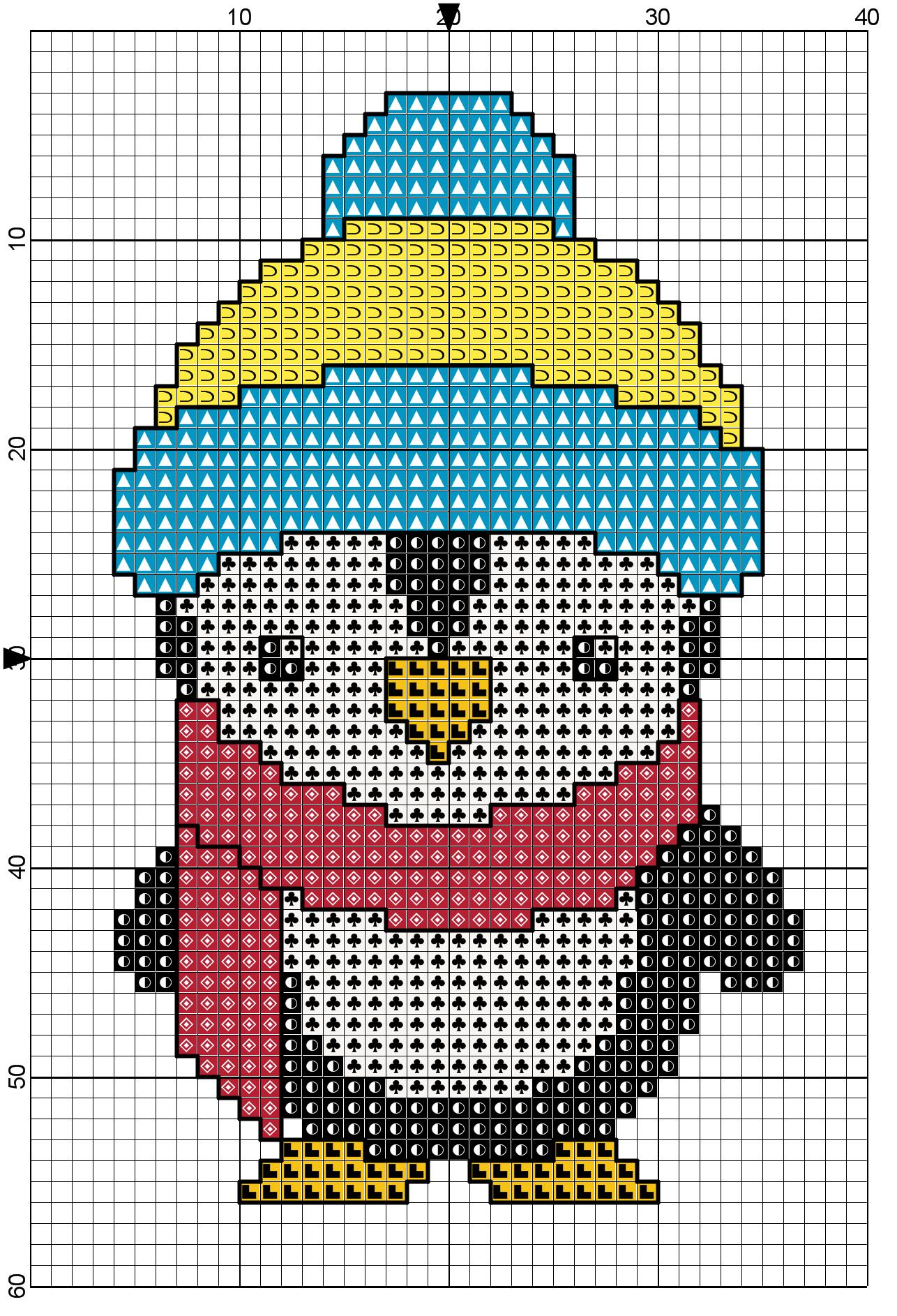 penguin cross stitch1