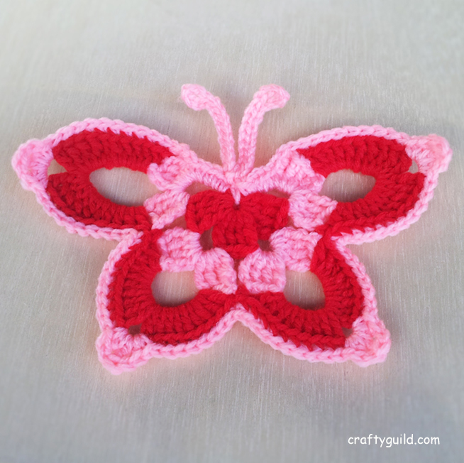Crochet Butterfly Pattern : 15 Free Crochet Butterfly Patterns