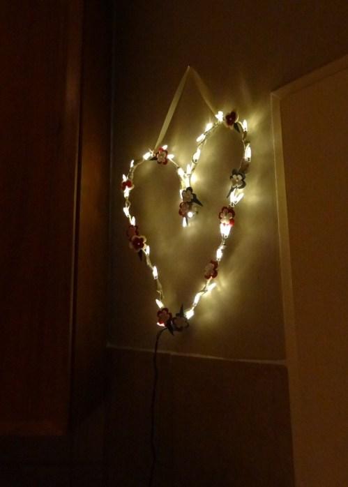 Fairylights heart
