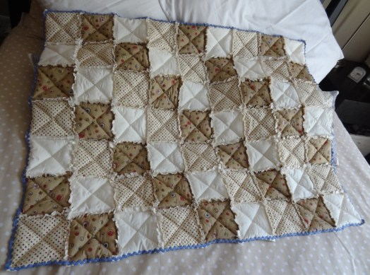 Quilt for baby boy