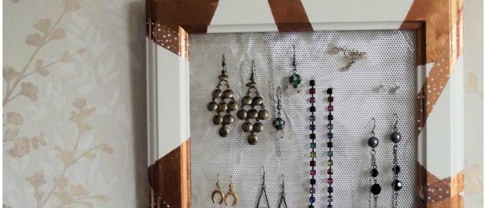 Framed Earring Hanger