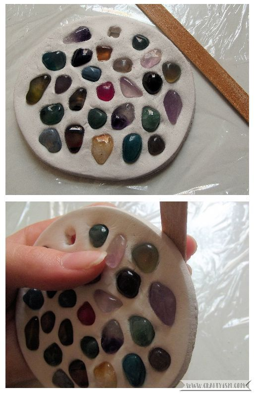 Garden Gemstone Suncatcher Step 5