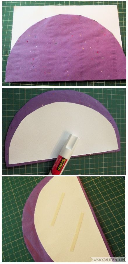 How-to Paper Honeycomb Half Sphere step 6