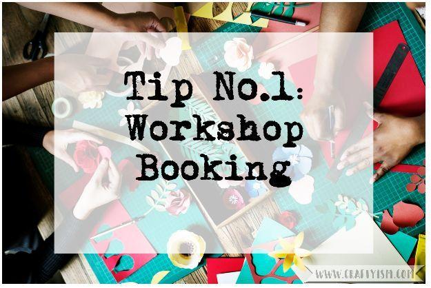 5 Top Tips Visiting a Craft Show - Tip 1