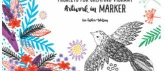 Review - Creative Marker Art and beyond by Lee Foster-Wilson | Title