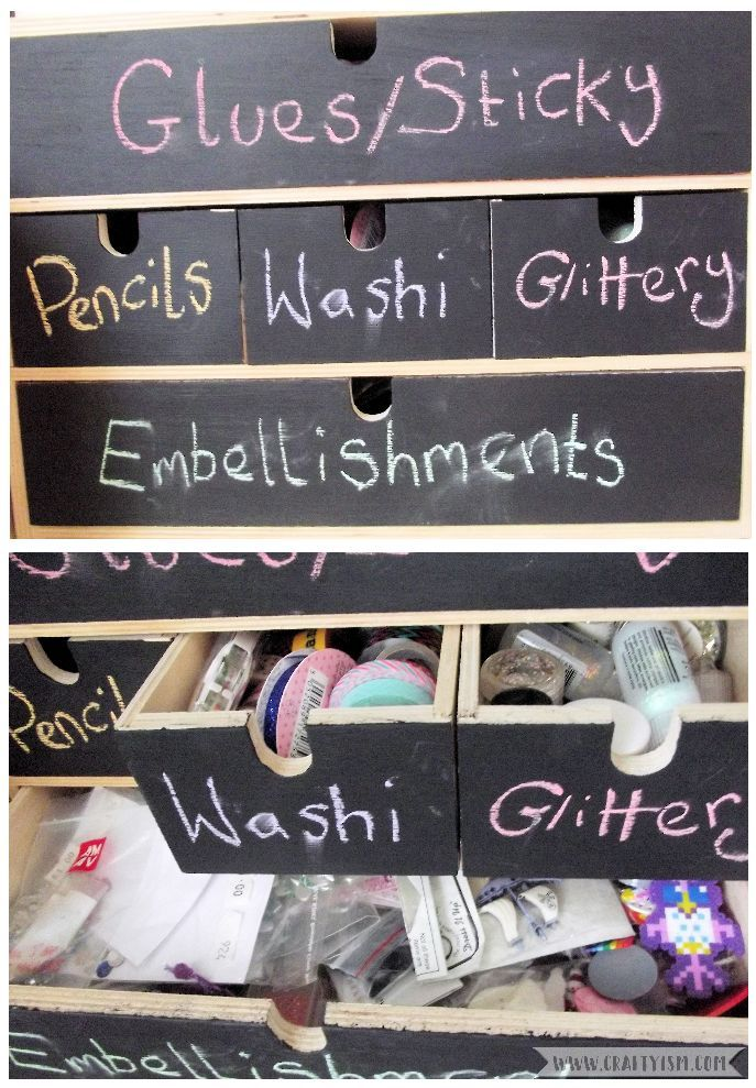 5 Top Ttips: How I became an organised crafter   display your craft stash