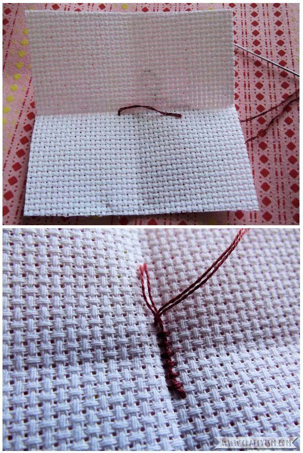 How to - beginners cross stitching start