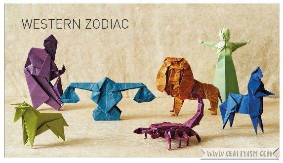 Craft Book Review - Perfectly Mindful Origami by Mark Bolitho | Western Zodiac