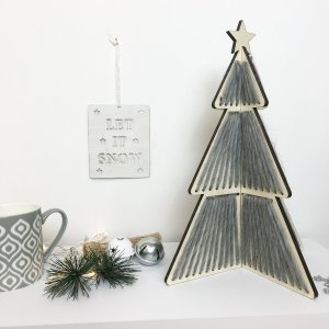 Etsy Holiday Gift Guide - Woven Christmas Tree Craft Kit by WoolCoutureCompany