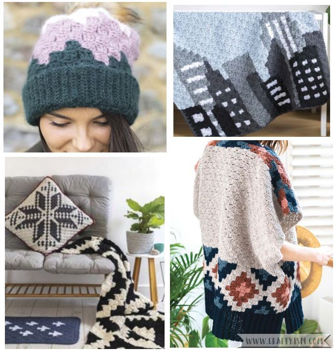 Review - Corner to Corner Crochet by Jess Coppom | contents