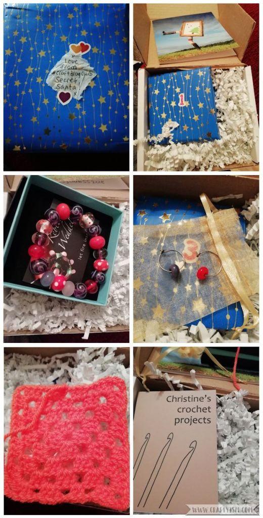 Craftyism - #CraftBlogClub Secret Santa 2018   My gift