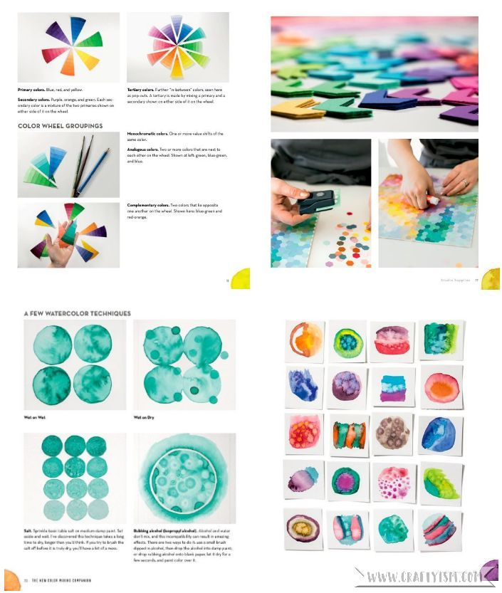 Craftyism - The New Color Mixing Companion by Josie Lewis | Contents