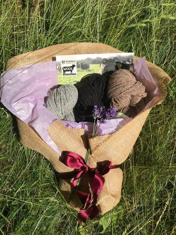 Craftyism - Crafty Mother's Day Etsy Gift Guide   yarn bouquet