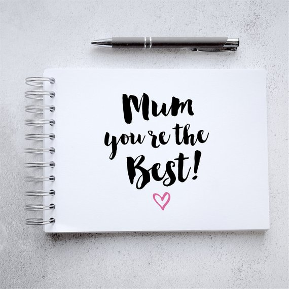 Craftyism - Crafty Mother's Day Etsy Gift Guide | Mum Scrapbook